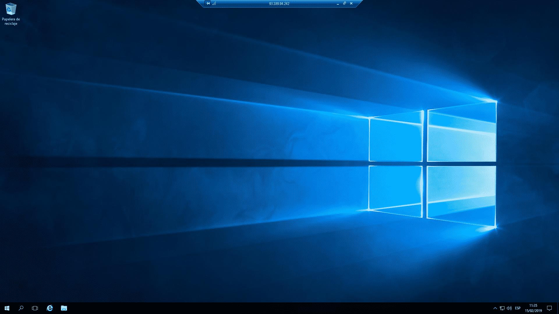 vps con windows 10
